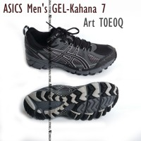 Original 100% Sepatu Asics Men's GEL-Kahana 7 T0E0Q Duomax 8.5 Grey