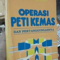 Operasi Peti Kemas dan Pertanggungannya
