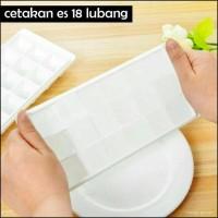 Ice Tray / Cetakan Es Batu 18 Kubus / Ice Cube