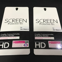Asus zenwatch 3 WI503Q Smartwatch Screen Protector Film, 2 pcs inside