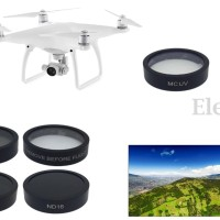 6pcs ND4+ND8+ND16+MC-UV+CPL+Filter Lens Protector Cap - DJI Phantom 4