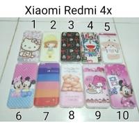 Jual Case Softcase Karakter For Xiaomi Redmi 4x / Softcase Xiaomi Redmi 4x Murah