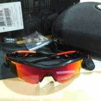 OAKLEY RADAR LOCK PATH FRAME POLISHED BLACK PRIZM ROAD LENS 2N