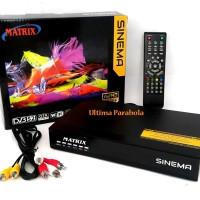 Receiver Matrix Sinema HD + Gratis 7 free ch premium selamanya