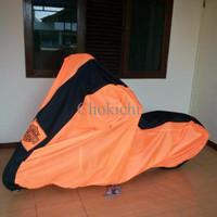 PROMO Cover Motor Harley Davidson Softails / Moge 1 Garis / Selimut Mo