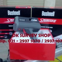 Speed Gun/Radar Gun/ Alat Ukur Kecepatan Bushnell Speedster Iii 101921