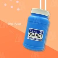 Cat Sablon Quaret Warna Biru Muda