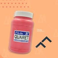 Cat Sablon Quaret Warna Pink