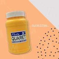 Cat Sablon Quaret Warna Kuning Emas