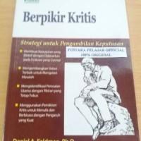 Buku Berpikir Kritis / Daniel A Feldman / Indeks