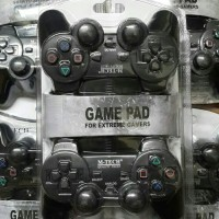 Gamepad Double Mtech/Joystick/Gamepad Double Hitam M-Tech/Pc Laptop