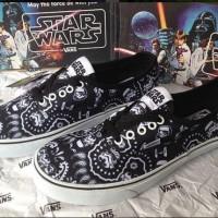 Sepatu Vans Authentic Starwars Dark StormTrooper Bandana Waffle ICC
