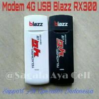 Modem 4G USB Blazz RX300 Support xl, indosat, tri, simpati, axis murah