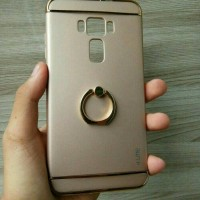 Case Ume knight electroplating witg ring stand Asus Zenfone 3 ZE520KL