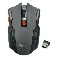 2.4 gHz mouse optik nirkabel portabel mini game PC Laptop tikus Kelabu
