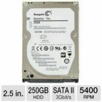 hardisk internal 250gb Seagate 2'5inci for laptop notebok garansi 1thn