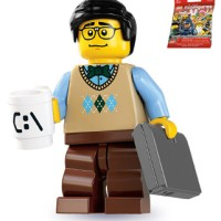 Computer Programmer (sealed) Lego 8831 Minifigure Series 7 no 12