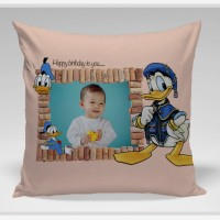 Bantal Foto Custom - Donald Duck Stand
