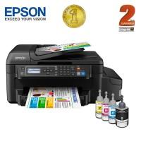 Epson Printer All in One L655 Wifi - Hitam (Print, Scan, Copy ,Fax)