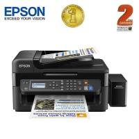 Epson Printer All-in-One L565 Wifi - Hitam (Print, Scan, Copy, Fax)
