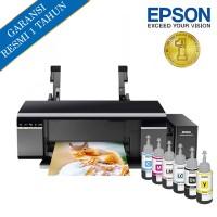 Epson Printer L805 Wi-Fi - Hitam (Print)