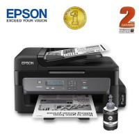 Epson Printer Monochrome Multifungsi M200 - Hitam (Print, Scan, Copy)