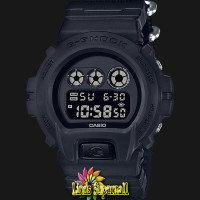 Jam Tangan Pria Casio G-Shock DW 6900BBN 1DR Models Cloth Band