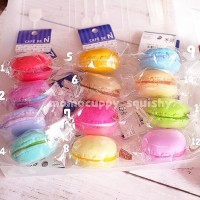 macaroon Squishy by cafe de N - Squishy Kue Makaron Original Japan