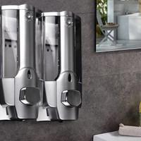 Tempat Sabun Cair 2 Tabung / Soap Dispenser Double