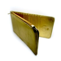 Dompet Kartu Simple Gold