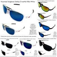 kacamata sunglasses pria okley crosshair fullset