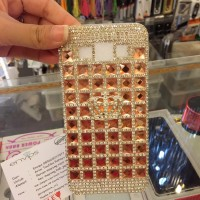 Case Rose Gold Mahkota Crown Semua Type Hp Sony Xperia Vivo Xiaomi