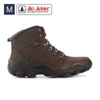 Sepatu Pria Jim Joker Oslo 02B Boots Leather Brown Men