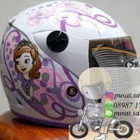 Helm Shell Anak Sofia / cute / girl
