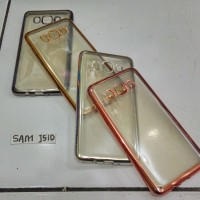 Tpu Chrome Samsung J510 / J5 2016 / J5 6, Softcase Silikon Jelly