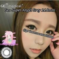softlens geo super angel 14.8mm grey