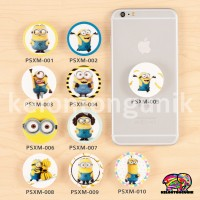 Jual Minion PopSockets / PopSocket/ Ring HP / Phone Holder/ Phone Stand Murah