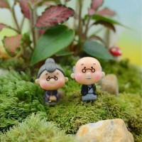 Jual Miniature/terarrium/mini Garden/kakek nenek (sepasang) Murah