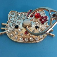 Ring Stand Hello Kitty Diamond