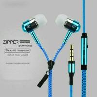 Earphone Zipper Plus Mic