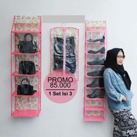 Paket Gantungan Jilbab Gantungan sepatu dan Gantungan Tas Murah Meriah