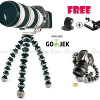 Jual Gorillapod / Flexible Tripod Ukuran LARGE For VLOG Action Cam & DSLR Murah