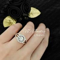Cincin zirconia gelang kalung anting perhiasan aksesoris real pic