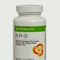 NRG nature raw guarana teh diet untuk penambah stamina n bakar kalori