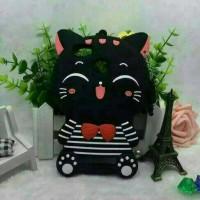 Jual Redmi 4A mi4c mi4i 3D Bowknot Lucky Cat Cartoon Silicone Cases Cover Murah