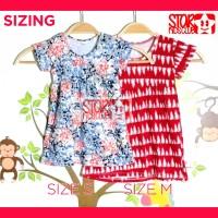 Jual Baby Dress Daster Baju Bayi Anak Warna Warni Cantik merk G-SHE GSHE Murah
