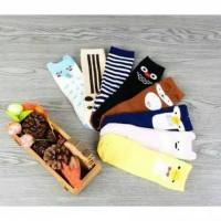 Jual Kaos kaki anak bayi lucu motif binatang / cute animal baby socks part4 Murah