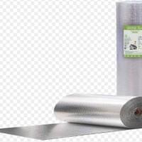 Peredam Panas & Suara Atap, Aluminium Foil Thermal 8mm Shine Foil