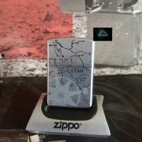 Jual Zippo Original Marlboro Utah Compass Murah