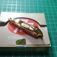 777 - Gunting Kuku Miring Original Korea Gold ( Sedang ) CT118G